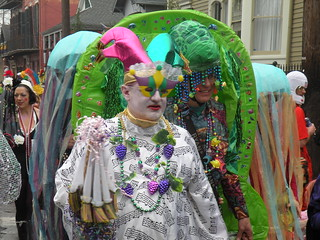 Mardi Gras in the Marigny
