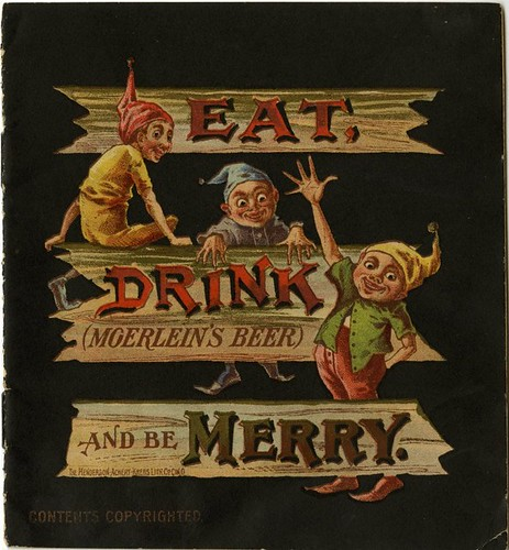 Eat, Drink (Moerlein's Beer) and be Merry - Cover