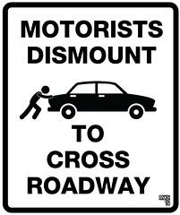 Motorists Dismount
