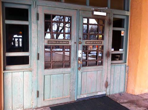 La Posada - South Entrance Doors