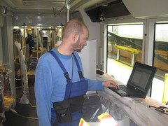 Diagnostic Checks Aboard DC Streetcar