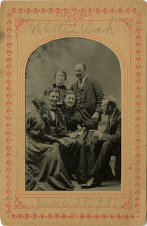 Three Couples in White Oak, June 28, 1895 - Tintype