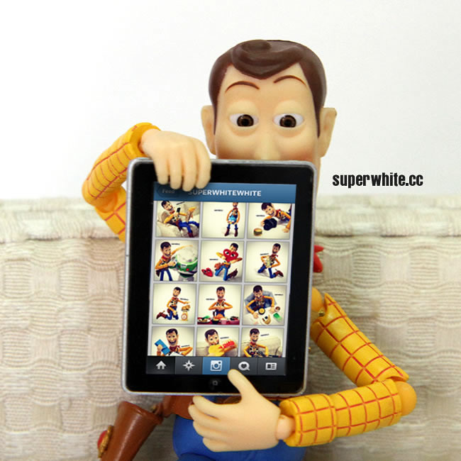 Lookie here… Woody's Instagram gallery.