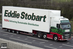 Volvo FH 6x2 Tractor - PX61 BFM - Katie Sue - Eddie Stobart - M1 J10 Luton - Steven Gray - IMG_1794