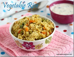 Veg rice - Easy one
