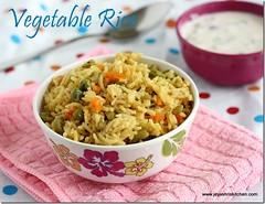 Veg rice - Easy one