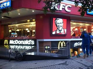 KFCとマック