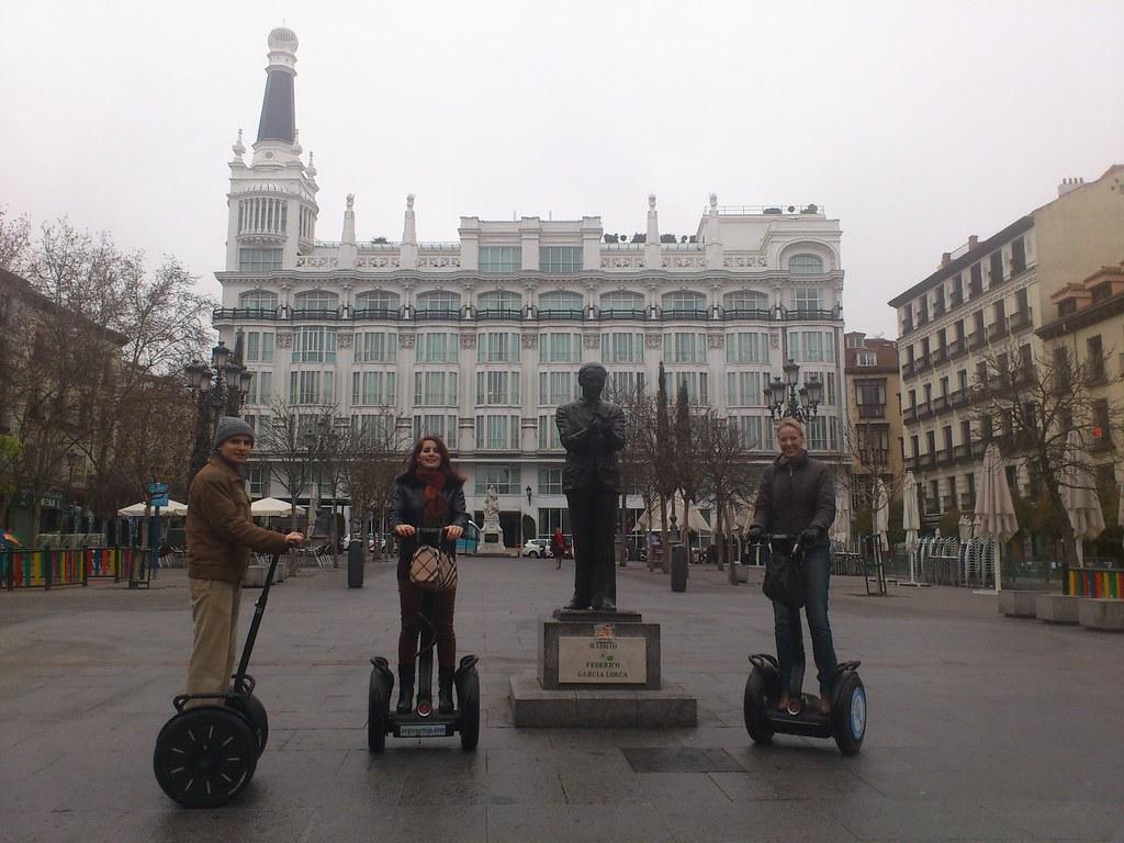 Madrid Segway Trip