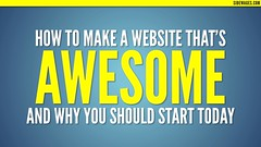 How to host a website, How to Make a Website that\'s Awesome PowerPoint Sl…