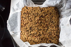breakfast bars, baked