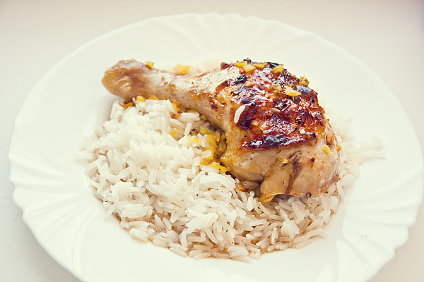 Medovo-citrónové kuře