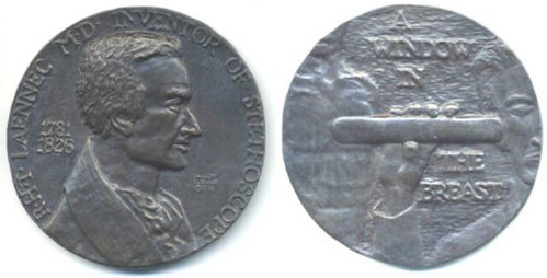 Window in the breast medal