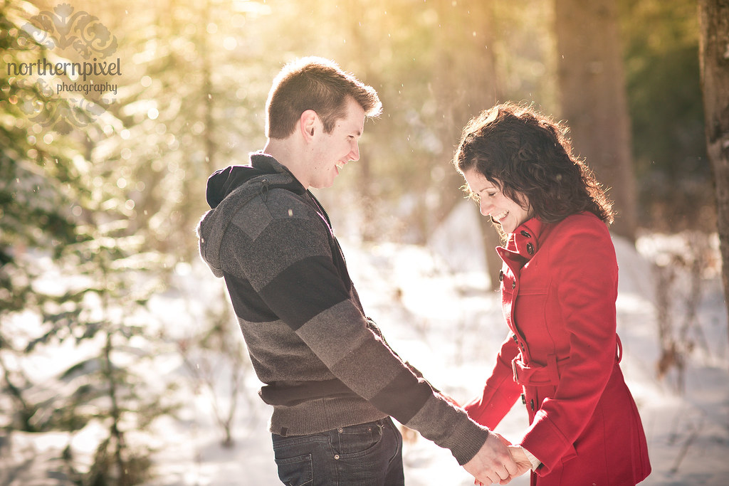 Winter Engagement Session - Prince George