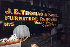 J.E. Thomas and Sons, trailer for a steam road wagon