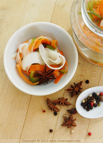 Star Anise Daikon Pickles