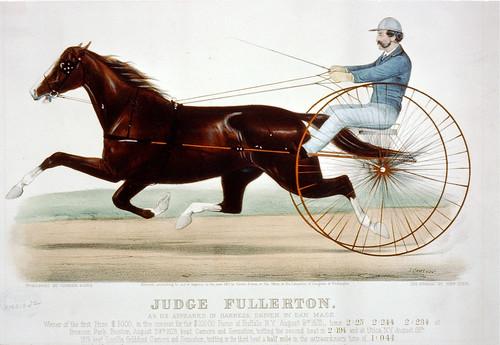 019-Imagen carreras caballos trotones-Library of Congress