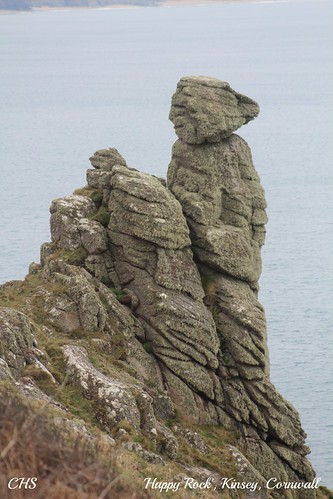 'Happy Rock', Kinsey, Cornwall by Stocker Images