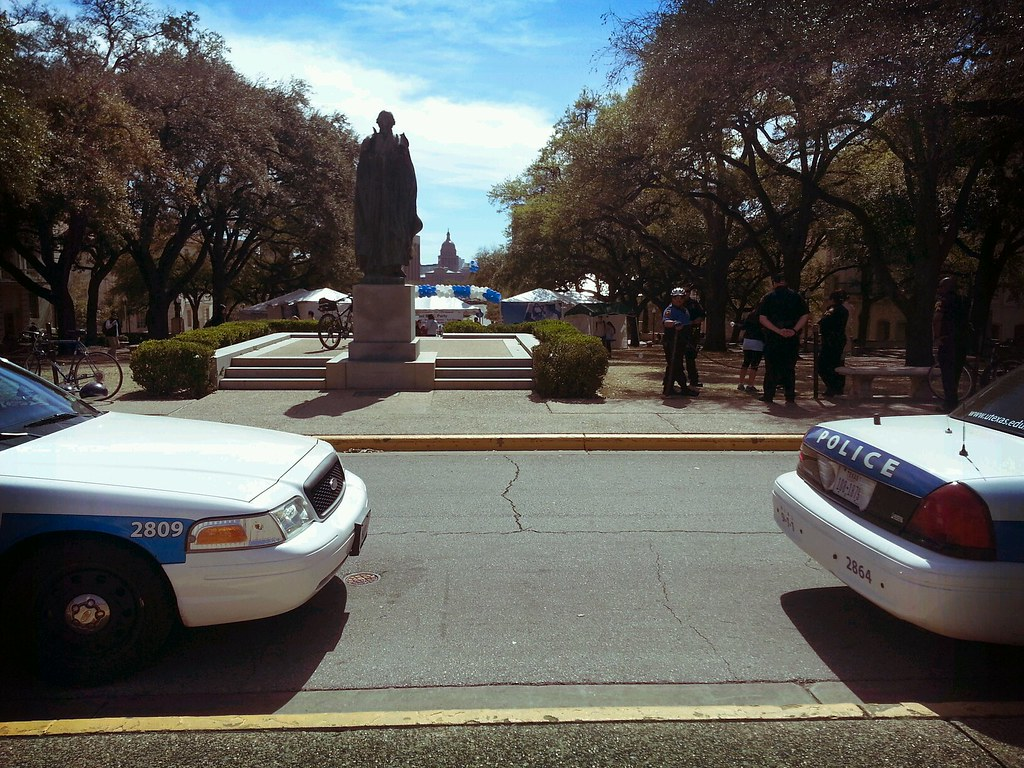 UT Police Protect Israeli Block Party From Dangerous Information