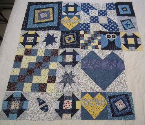 My Favorite Block Quilt Along 8 blocks
