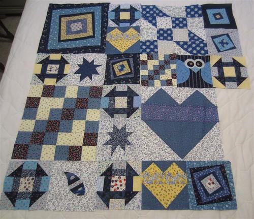 My Favorite Block Quilt Along 8 blocks