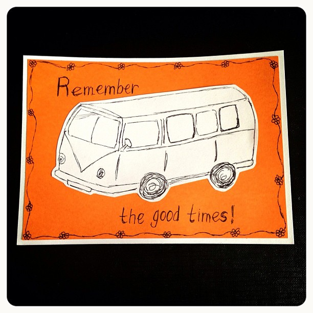 Day 3: Transportation I actually thought of not doing a transport but then could resist. Remember if you want any of my doodles just let me know #doodleadaymarch #doodleaday #campervan #transport #transportation