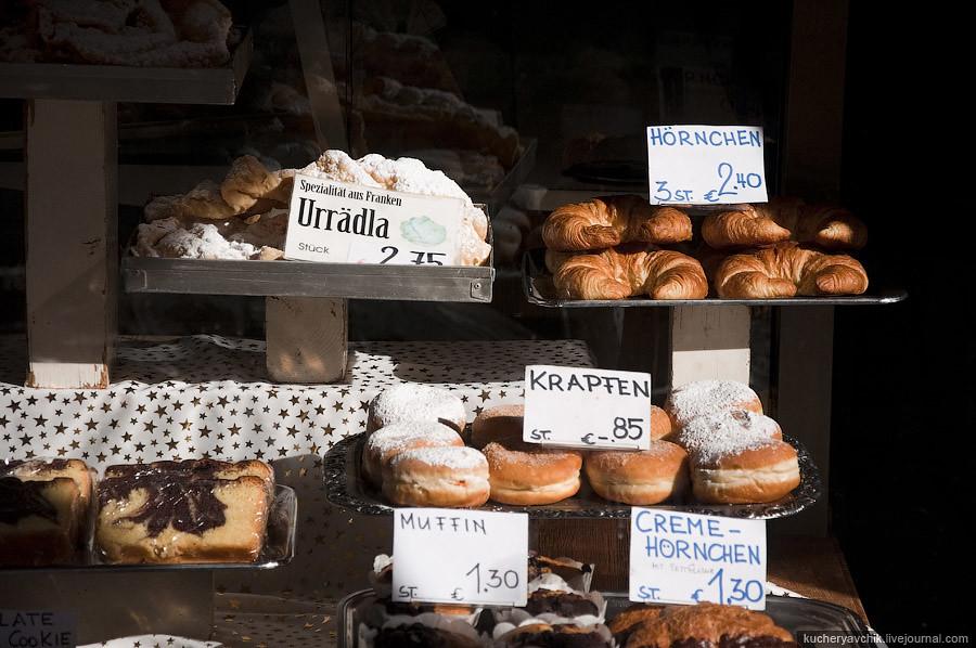 Самая простая витрина для продажи булочек и пирожных