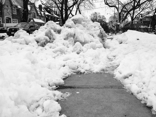 The Lytton Blvd. snow and ice impasse - #61/365 by PJMixer