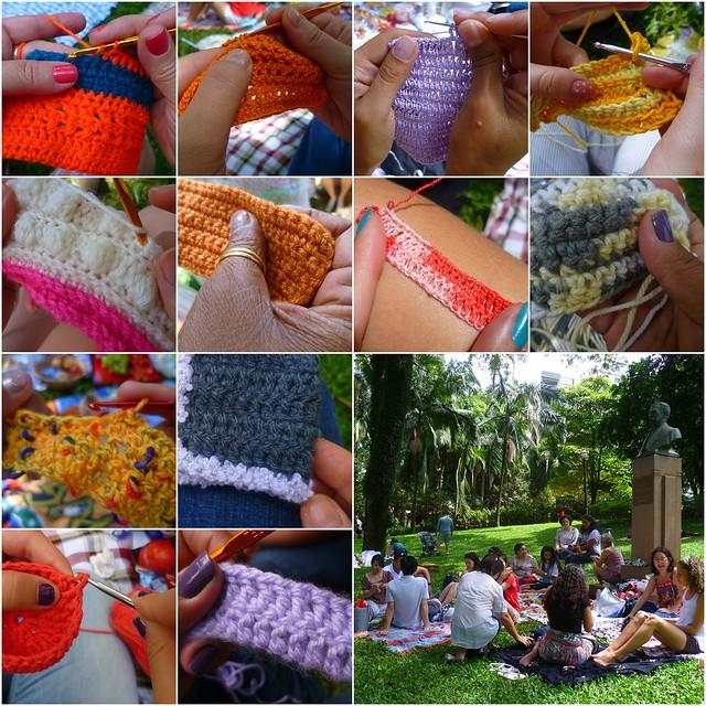 Piquenique & crochê: mãos
