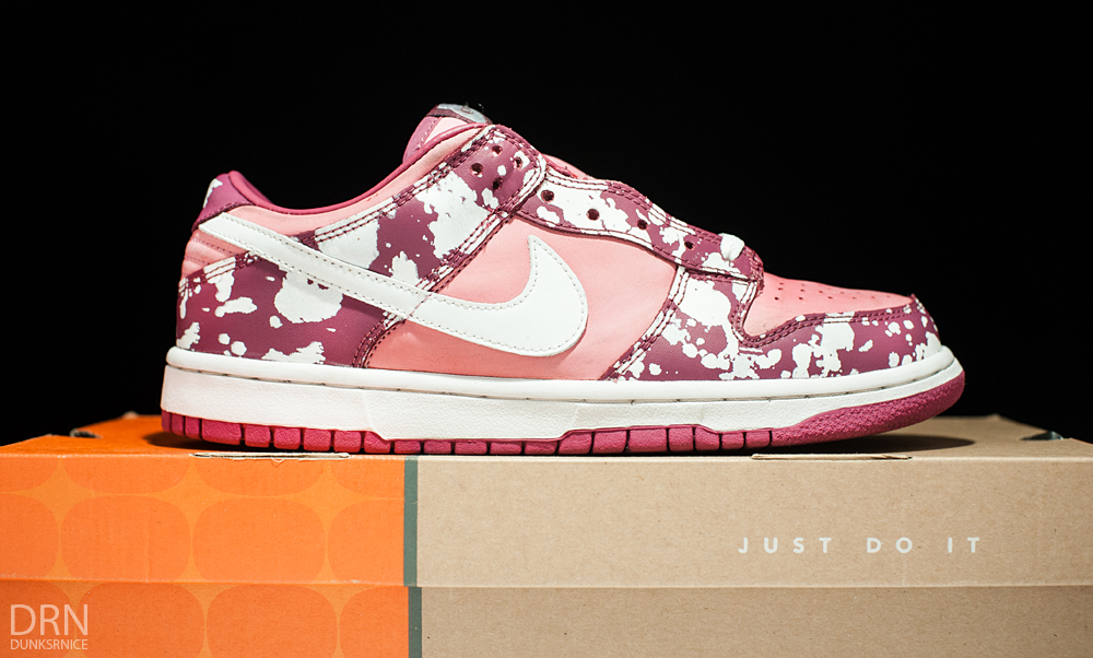 Woman Splatter Dunks.