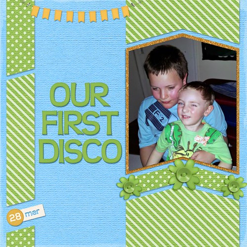 Our First Disco by Lukasmummy