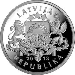 Silver Salmon coin reverse