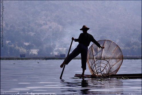 Fishing at Inle lake_Burma