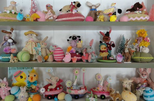 easter parade shelves