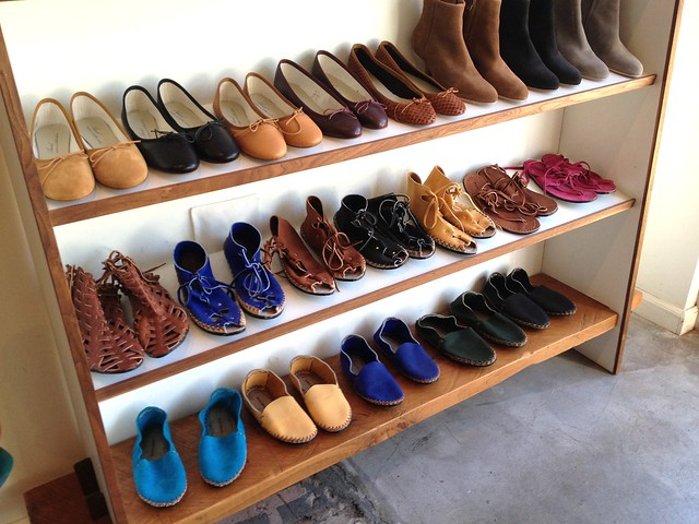 Shoes at Dream Collective - Silverlake