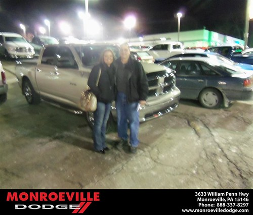 Congratulations to Mark Kreger on the 2009 Dodge Ram by Monroeville Dodge