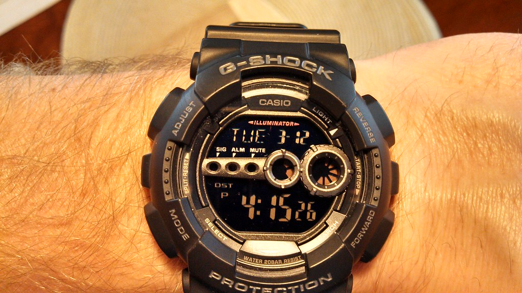 on sale 010ab 5f122 G-Shock GD-100 3263 | My new g-shock | piss_off_dick | Flickr