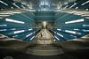 U4 Station Überseequartier - Fisheye - Fuji X-Pro 1 by HamburgCam