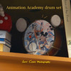 HM Animation Academy drum set