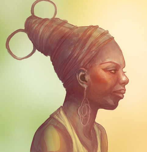 Nina Simone In Progress