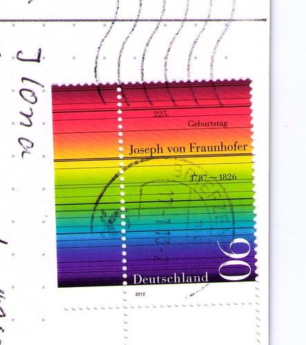 DE-1879905 German Rainbow Stamp
