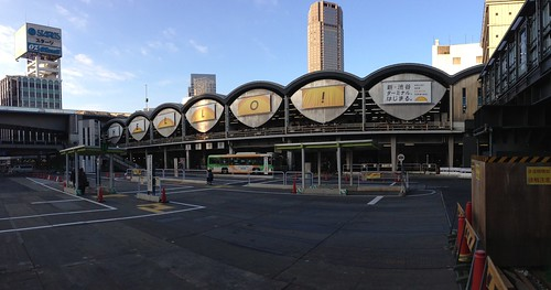 The Shibuya Toyoko Line Terminal Station - Exterior