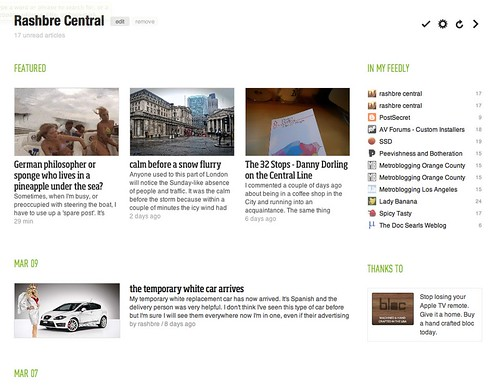 feedly example
