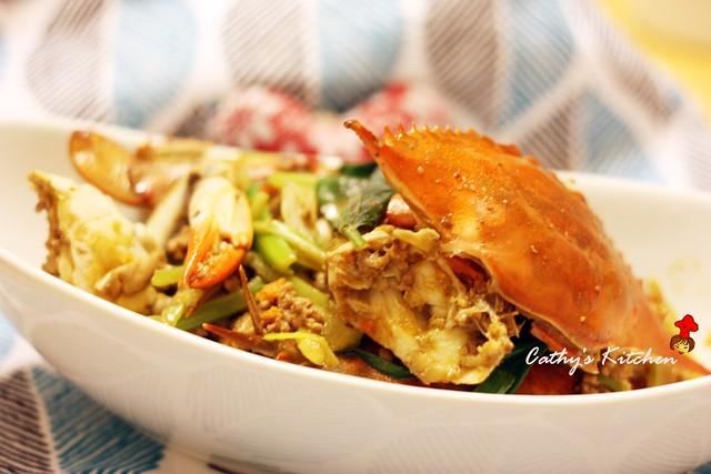 台式肉末快炒螃蟹 Crab with Minced Pork20