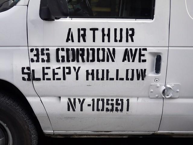 Sleepy Hollow Van #walkingtoworktoday #vantype