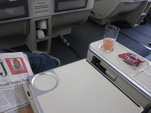 A380 Business Class Seating