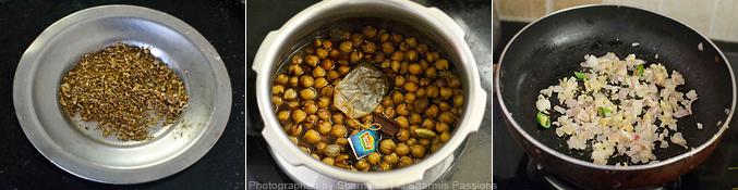 How to make green peas paratha - Step1