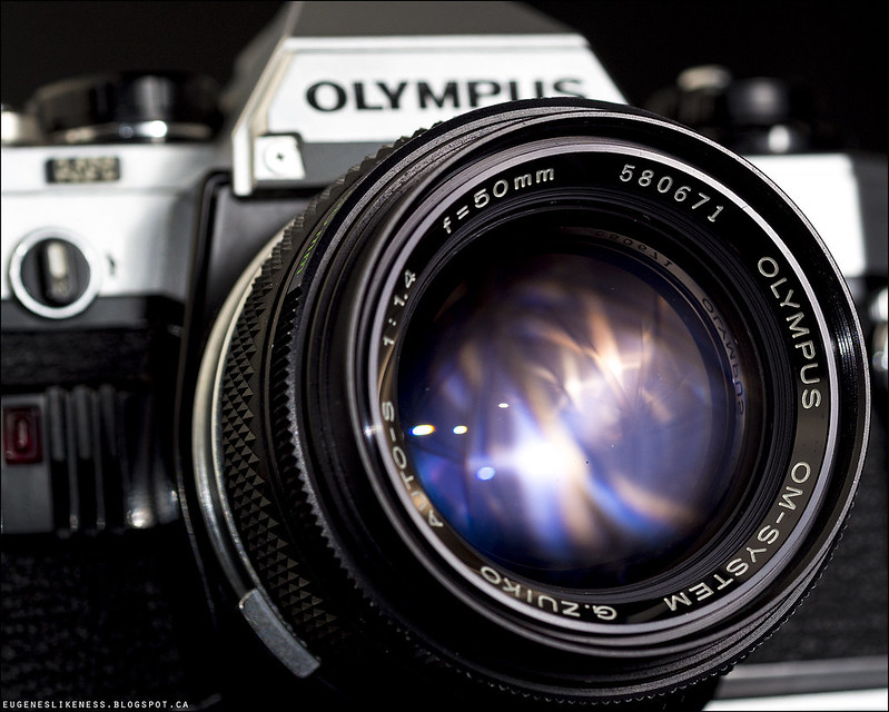 Olympus OM-10 and G. Zuiko 50mm f/1.4 Teaser