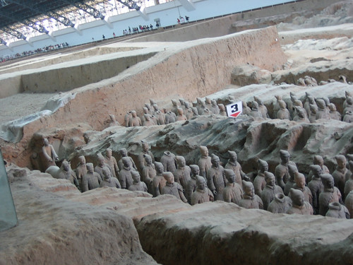 IMG_4970 - Terracotta Warriors in Qin Shi Huang's Tomb, Xi'an, China, 2007