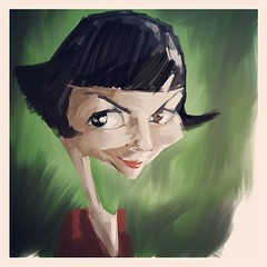 Amelie in progress 2. Ipad