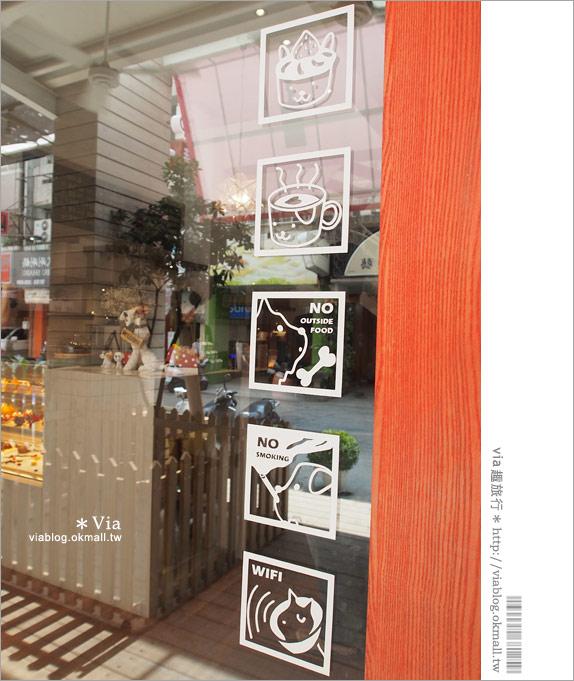 【台中咖啡廳】台中甜點推薦~小梗甜點咖啡!超好吃的季節&每日限定草莓千層!7